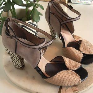 Faryl Robin heels from Anthropologie